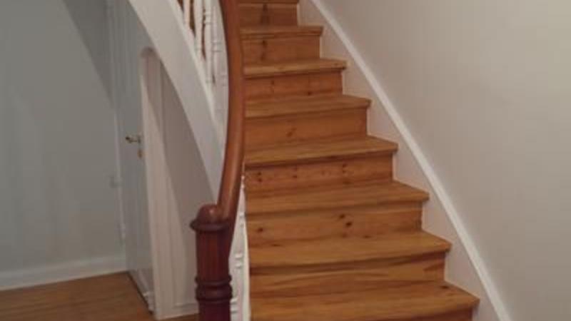 Antritt im Treppenviertel