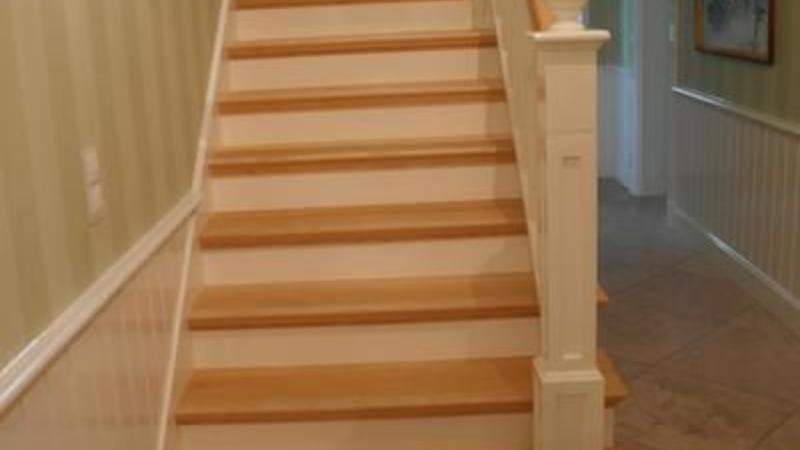 Treppe im Landhaus