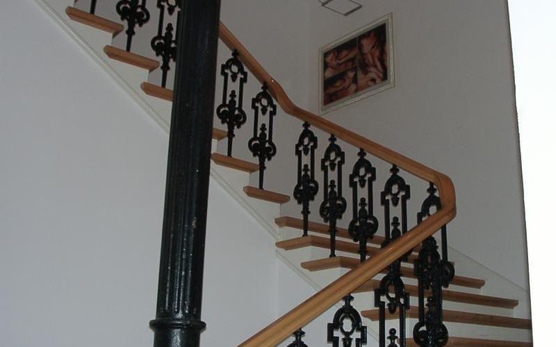 Historische Treppe in Hamburg Mitte